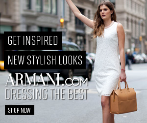 Armani Dressing the Best on Armani.com