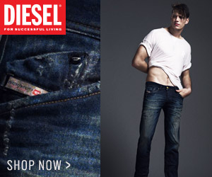 Diesel Mens Denim SS 300x250