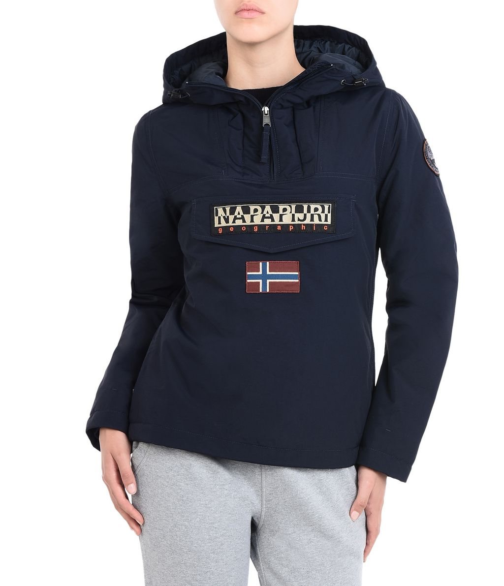 NAPAPIJRI RAINFOREST WINTER FEMME RAINFOREST,BLEU FONCÉ