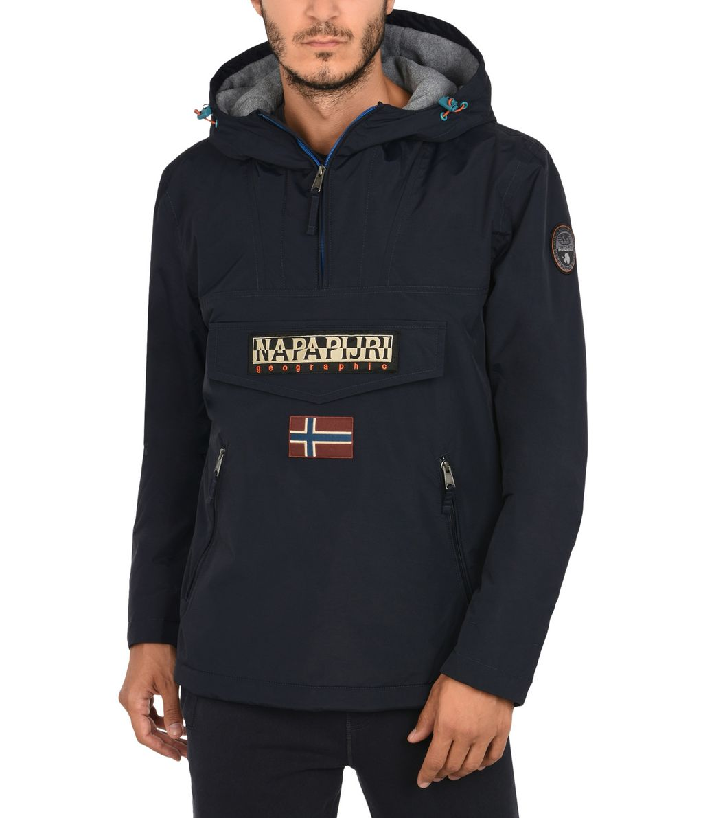 NAPAPIJRI RAINFOREST POCKETS SMARTY HOMME RAINFOREST,BLEU FONCÉ