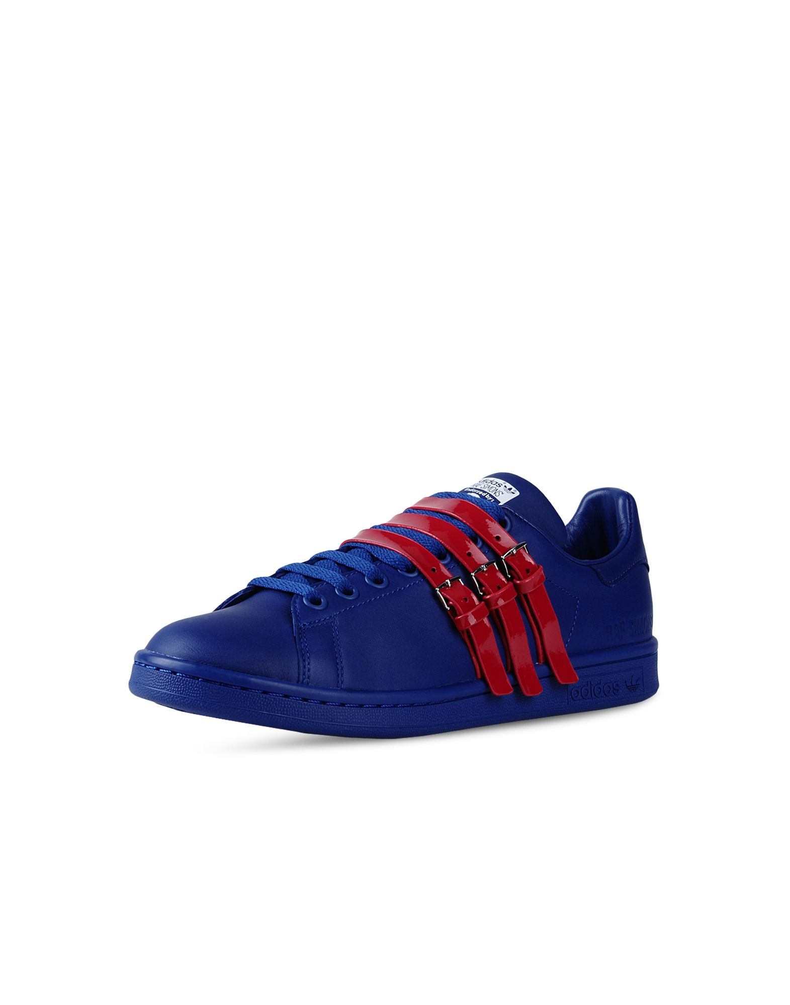 stan smith adidas velcro blue nz