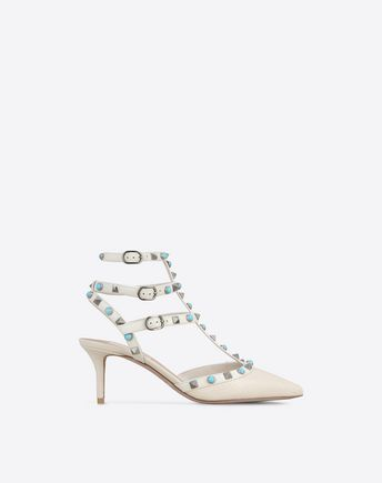 VALENTINO Rockstud Rolling ankle strap 11009787OO