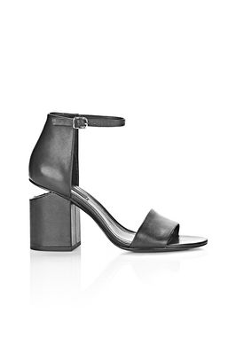 ABBY SANDAL WITH RHODIUM