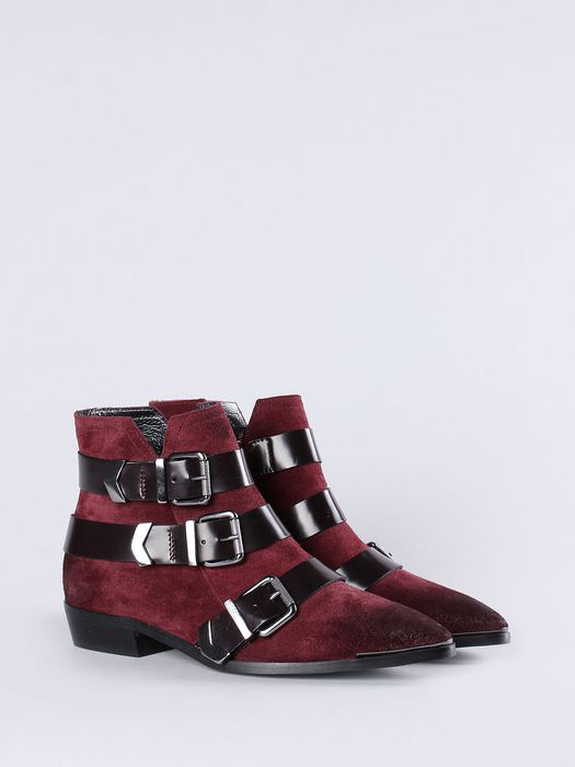 DIESEL D-ENILLA BUCKLE Boots D a