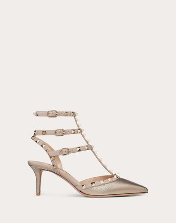 VALENTINO GARAVANI HIGH HEEL PUMPS D Striped Rockstud Courts f