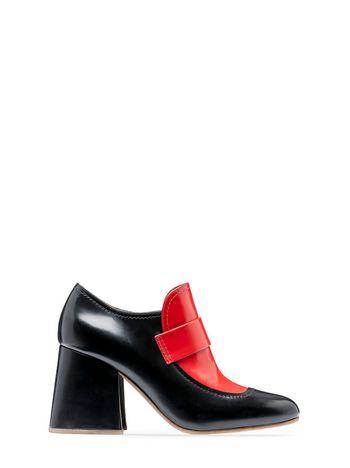 Marni Calfskin loafer with elongated shape Woman