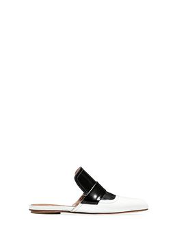 Marni Calfskin mule with elongated shape Woman