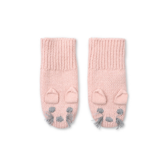 Pink Mopsey mittens
