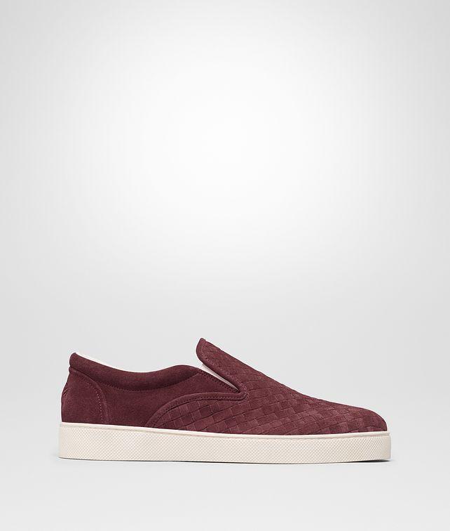 BOTTEGA VENETA DODGER SNEAKER IN BAROLO INTRECCIATO SUEDE Sneaker or Sandal U fp