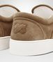 BOTTEGA VENETA DODGER SNEAKER IN CAMEL INTRECCIATO SUEDE Sneaker or Sandal U ap