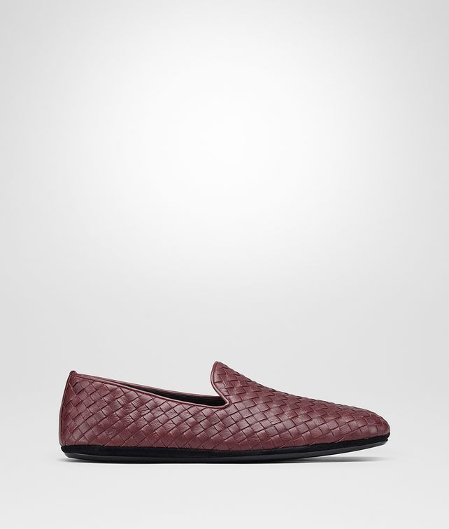 BOTTEGA VENETA FIANDRA SLIPPER IN BAROLO INTRECCIATO CALF Mocassin or Slipper Man fp