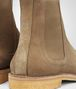 BOTTEGA VENETA VOORTREKKING BOOT IN CAMEL SUEDE Boots and ankle boots U ap