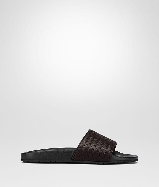 BOTTEGA VENETA LAKE SANDAL IN ESPRESSO INTRECCIATO CALF Sneaker or Sandal U fp