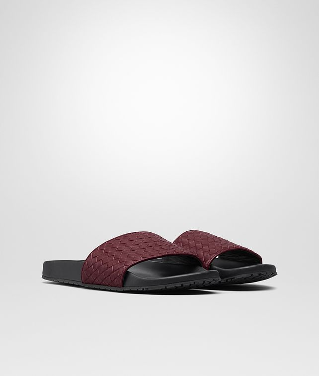BOTTEGA VENETA LAKE SANDAL IN BAROLO INTRECCIATO CALF Sandals Man fp