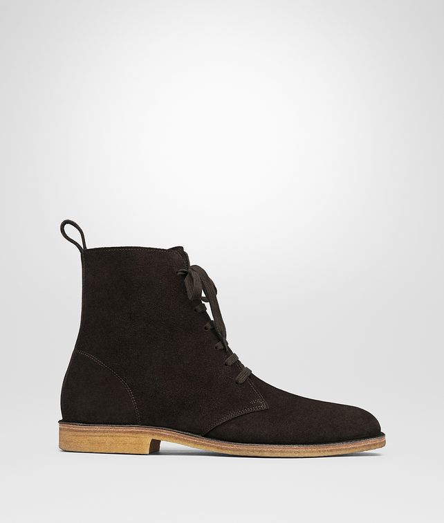 BOTTEGA VENETA CORBY BOOT IN ESPRESSO SUEDE Boots and ankle boots Man fp