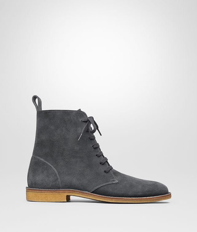 BOTTEGA VENETA CORBY BOOT IN ARDOISE SUEDE Boots and ankle boots Man fp
