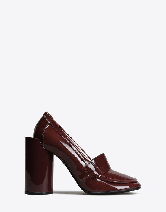 MAISON MARGIELA 22 Patent calfskin loafer pumps Closed-toe slip-ons D f