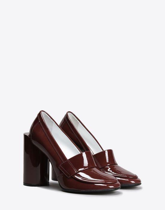 MAISON MARGIELA 22 Patent calfskin loafer pumps Closed-toe slip-ons D r