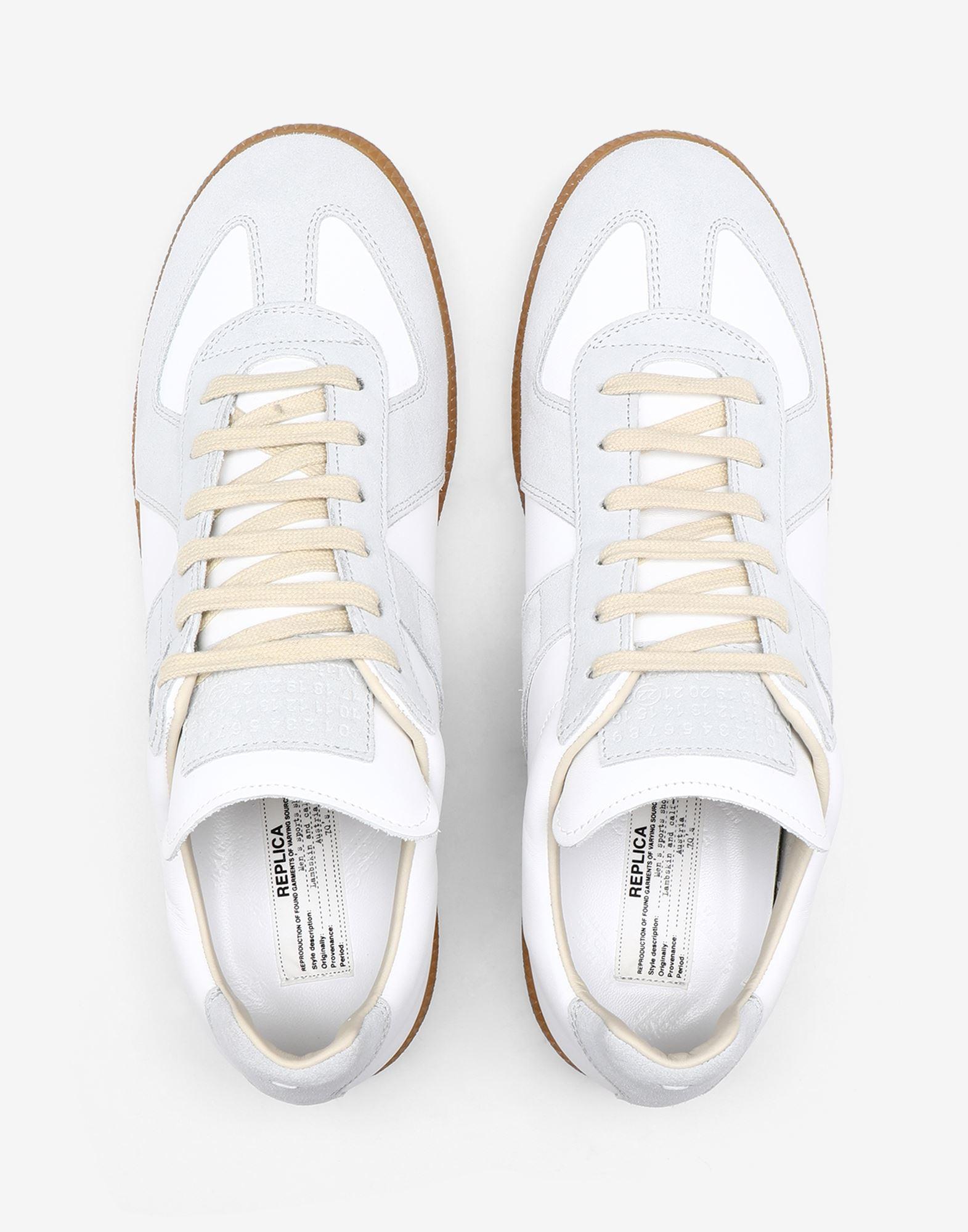 MAISON MARGIELA Sneakers 'Replica' in pelle di vitello Sneakers Donna a