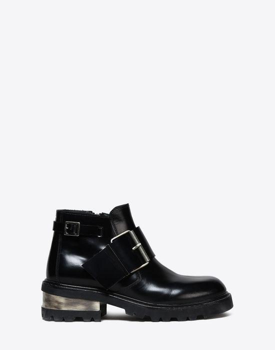 347f21f0b211d Maison Margiela Metal Heeled Buckle Boots Men   Maison Margiela ...
