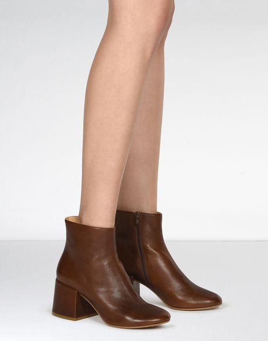 MM6 Leather Ankle Boots OnNqkCGT