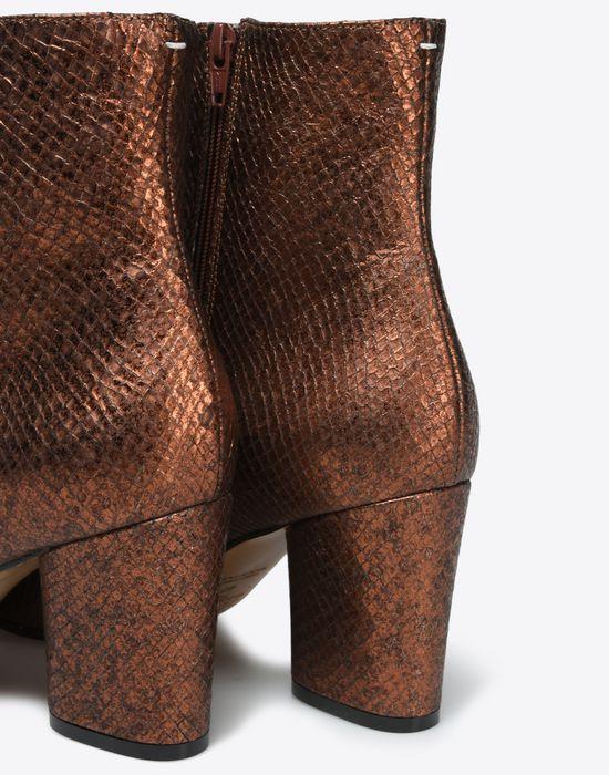 MAISON MARGIELA 22 Metallic ankle boots Ankle boots D a
