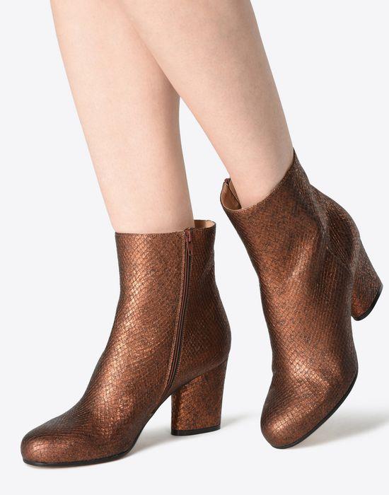 MAISON MARGIELA 22 Metallic ankle boots Ankle boots D b