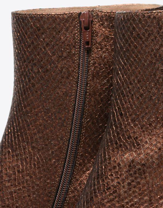 MAISON MARGIELA 22 Metallic ankle boots Ankle boots D e