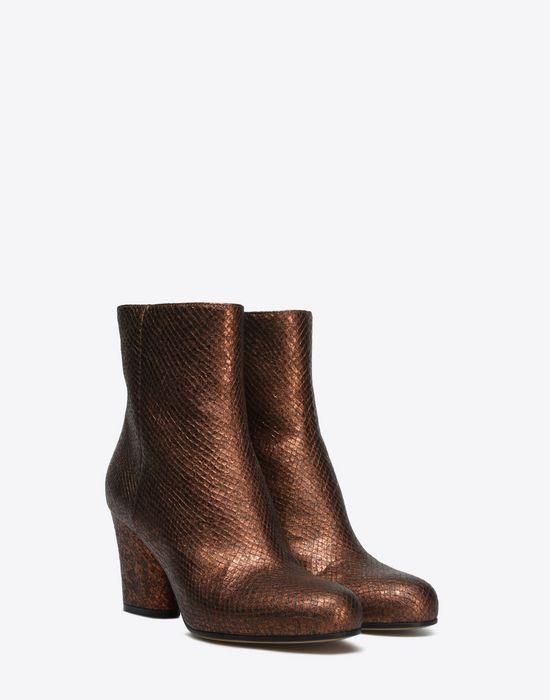 MAISON MARGIELA 22 Metallic ankle boots Ankle boots D r