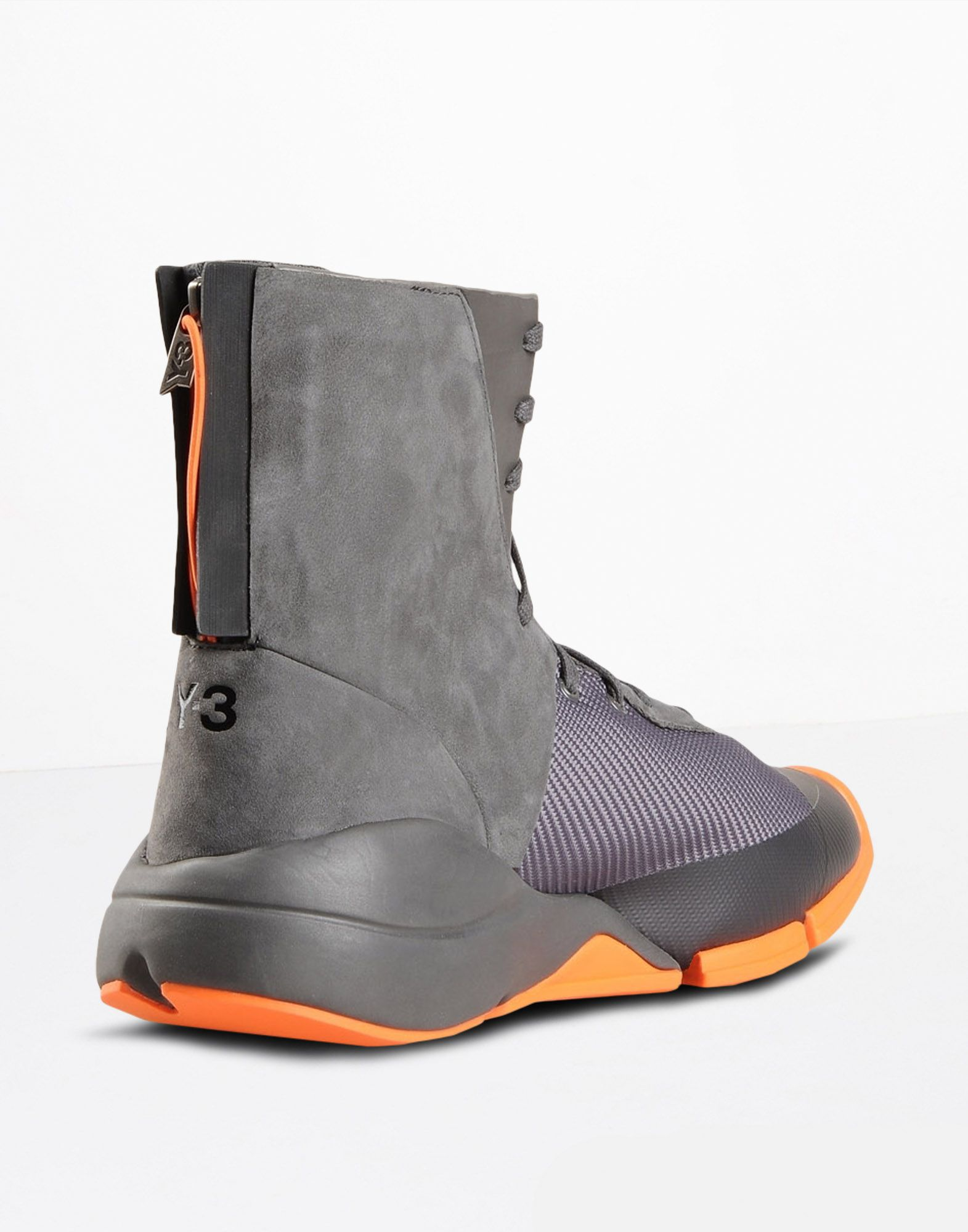Y 3 FUTURE ZIP HIGH SHOES man Y 3 adidas