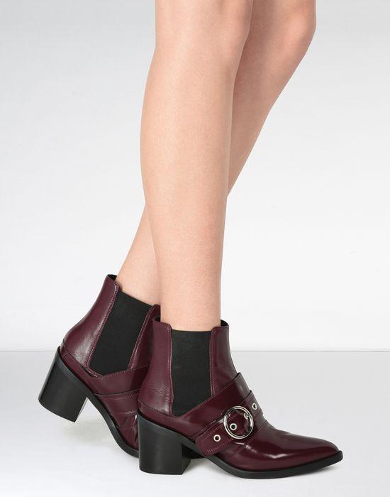 MM6 MAISON MARGIELA Buckled ankle boots alAGP60h