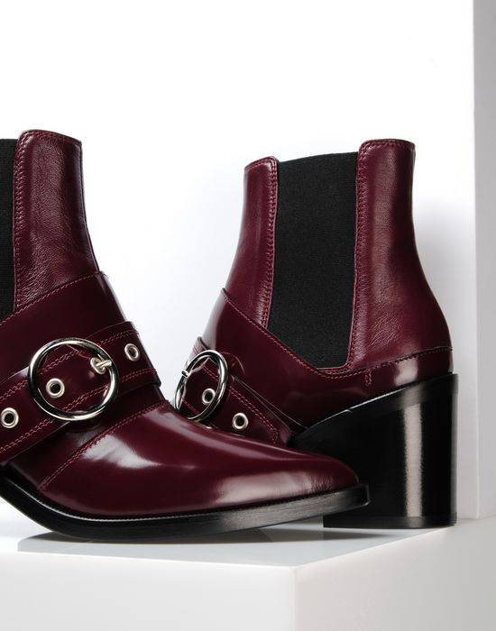 Mm6 Maison Margiela buckled ankle boots 2014 newest for sale Hvolaz
