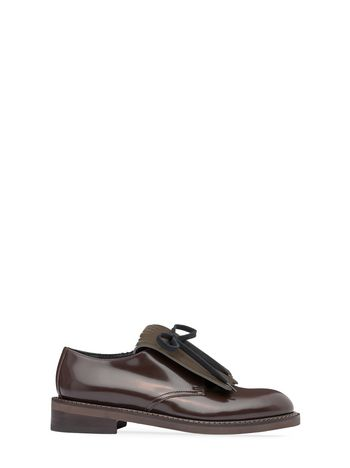 Marni Lace-up derby with fringe Woman