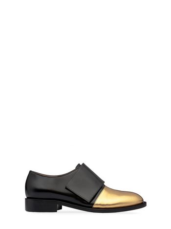 Marni Loafer in glossy calfskin with Velcro Woman