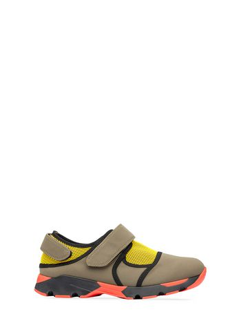 Marni Sneaker in technical fabric with Velcro Woman