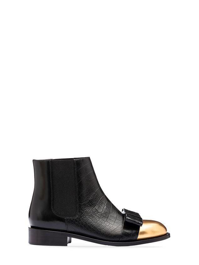 Marni Round toe half boot in calfskin Woman - 1