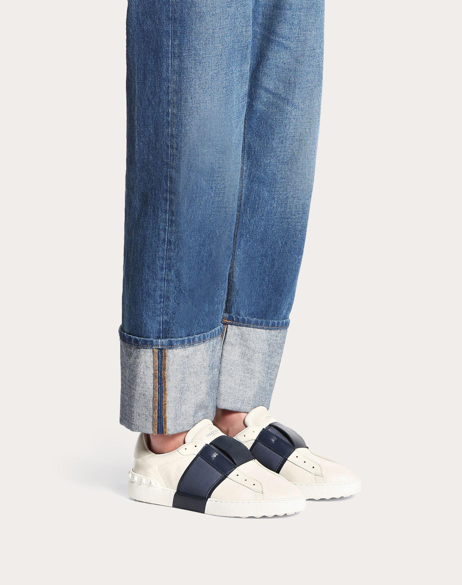 VALENTINO GARAVANI UOMO Elastic Sneaker LOW-TOP SNEAKERS U a