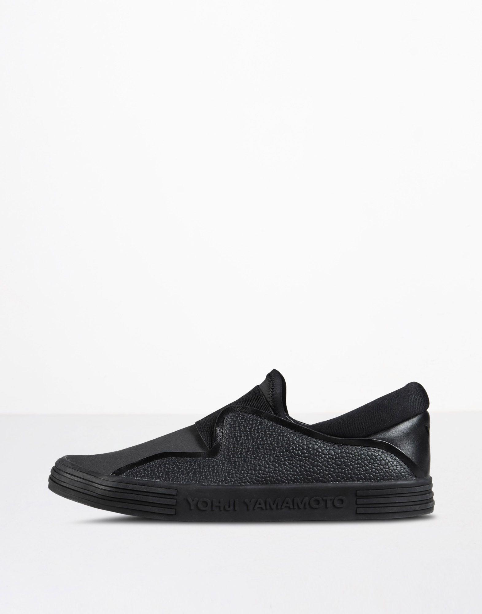 8e03d321564c adidas y 3 slip on aq5381 mens womans shoes black black  y 3 y 3 sunja slip  on sneakers woman