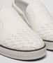 BOTTEGA VENETA BIANCO INTRECCIATO CALF SAIL SNEAKER Trainers Woman ap