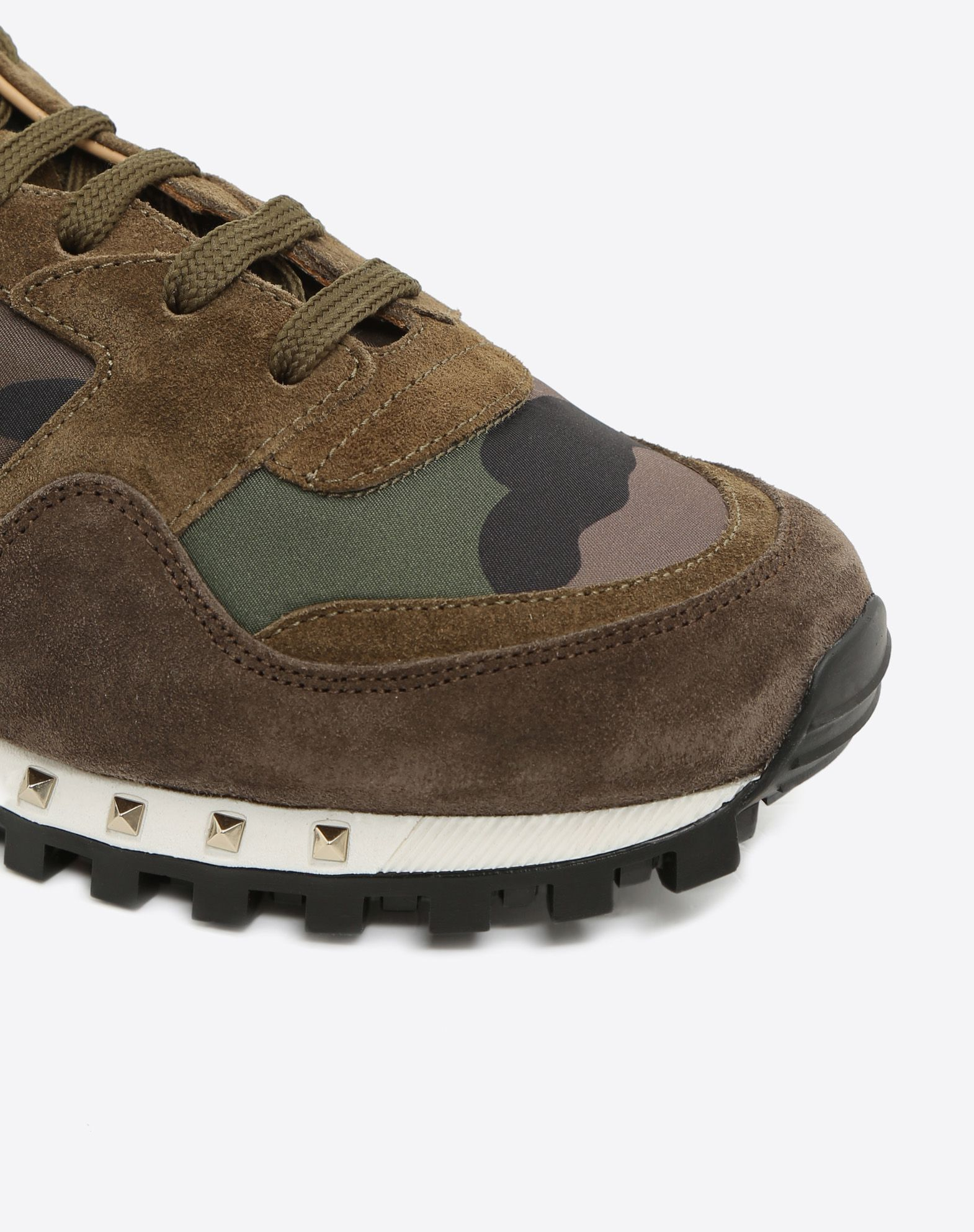 VALENTINO GARAVANI UOMO Camouflage Sneaker LOW-TOP SNEAKERS U b