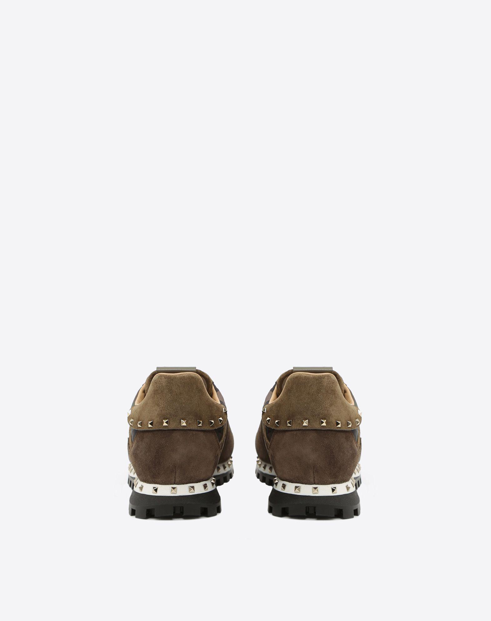 VALENTINO GARAVANI UOMO Camouflage Sneaker LOW-TOP SNEAKERS U d