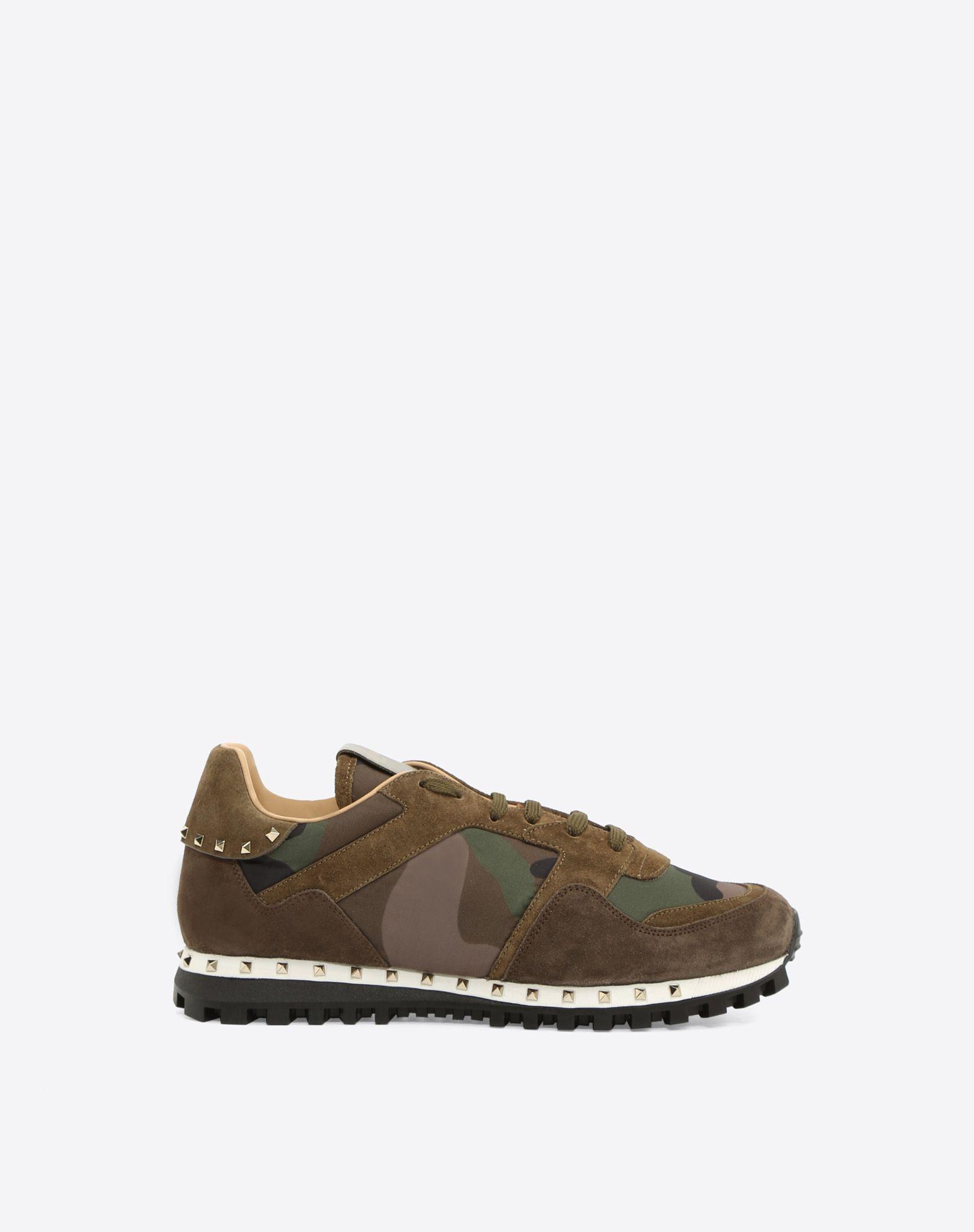 VALENTINO GARAVANI UOMO Camouflage Sneaker LOW-TOP SNEAKERS U f
