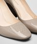 BOTTEGA VENETA CHERBOURG PUMPS IN MINK PATENT CALF, INTRECCIATO DETAILS Pump or Sandal Woman ap
