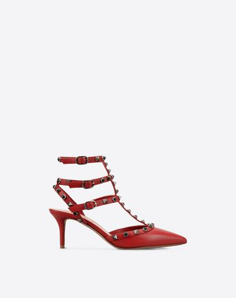 VALENTINO Rockstud Rolling Ankle strap 11059758DO