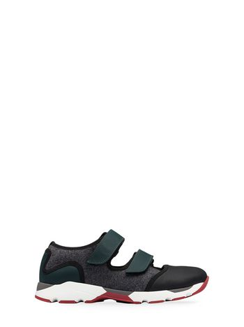 Marni Sneaker in felt with Velcro fastening Man