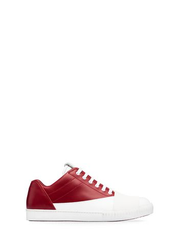 Marni Low-top sneaker in two-tone leather Man