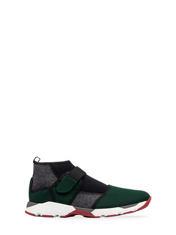 Marni Scuba sneaker in technical fabric Man