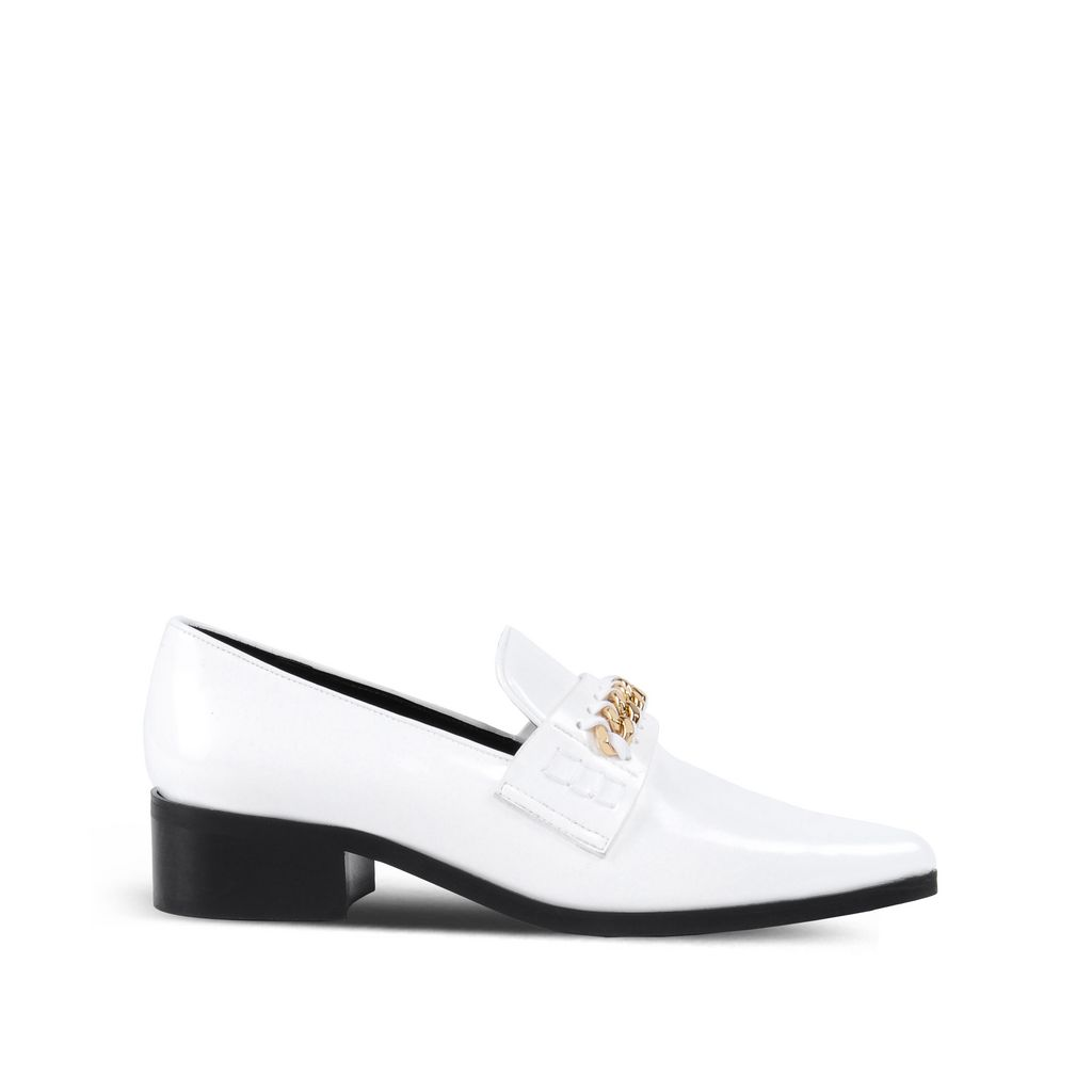 White Patent Loafers - STELLA MCCARTNEY