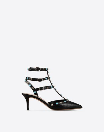 VALENTINO Rockstud Rolling ankle strap 11061677CH