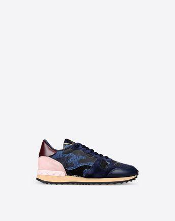 VALENTINO Denim Camouflage Sneaker  11063099PB